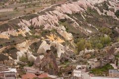 Landscape of Cappadocia stock photos