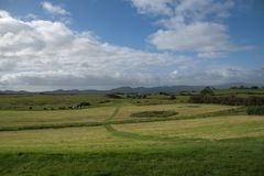 Landscape from Carrowmore in Sligo, Ireland. Landscape from Carrowmore in Sligo on a day in the autumn Stock Photography