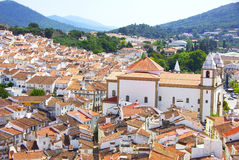 Landscape of Castelo de Vide Royalty Free Stock Photography