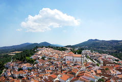 Landscape of Castelo de vide village Stock Photos