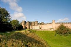 Landscape of the castle Stock Photos