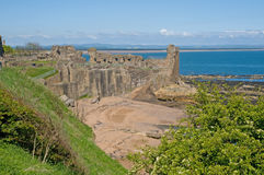 Landscape of the castle Royalty Free Stock Photo