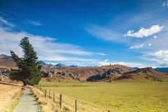 Landscape of Castle hill Stock Photo