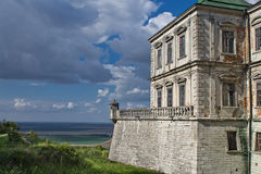 Landscape with a castle Stock Image