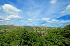 Landscape at castleton Royalty Free Stock Photo