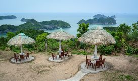 Landscape of Cat Ba Island in North of Vietnam Stock Photography