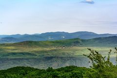 Landscape, Caucasus, Azerbaijan Royalty Free Stock Photos