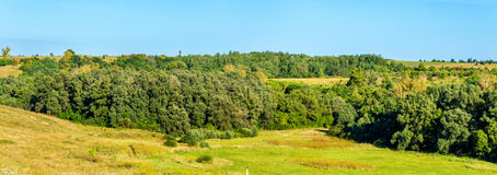 Landscape of the Central Russian Upland Royalty Free Stock Images