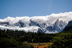Landscape in Cerro Torre Stock Image