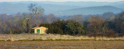 Landscape in the Cevennes Stock Photo