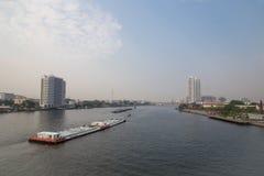 Landscape Chao Phraya River Bangkok Royalty Free Stock Images