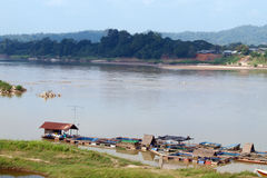 Landscape of chao phraya river lacated in Loei ,Th Stock Image