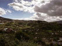 Landscape of Chaouen royalty free stock photography