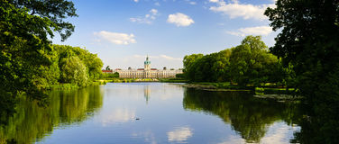 Landscape charlottenburg palace Royalty Free Stock Photo