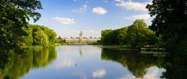 Landscape charlottenburg palace royalty free stock photo