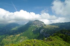 Landscape of chartreuse park. Landscape and pasture of chartreuse park in france Stock Photography