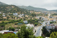 Landscape from Chefchaouen Royalty Free Stock Images