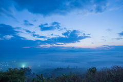 Landscape  in chiang mai Royalty Free Stock Photography