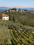 Landscape in Chianti Italy Stock Images