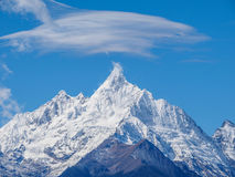 Landscape of China Yunnan Meili Snow Mountain. Royalty Free Stock Photos