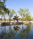 Landscape of Chinese gardens Royalty Free Stock Photo