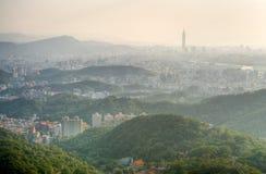Landscape of city Stock Photos