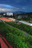 Landscape of city. Is Penang Island, Malaysia Royalty Free Stock Photography