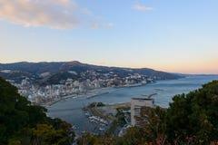 Landscape of the city of Atami, in Shizuoka, Japan Stock Photo