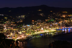 Landscape of the city of Atami, in Shizuoka, Japan Stock Images