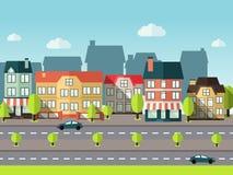 Landscape City Background Stock Images