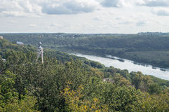 The landscape of the city of Kaluga in Russia. Royalty Free Stock Photo