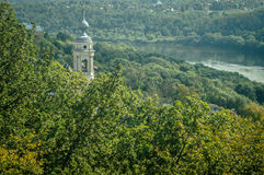 The landscape of the city of Kaluga in Russia. Royalty Free Stock Photos