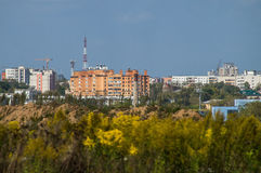 The landscape of the city of Kaluga in Russia. Royalty Free Stock Photography