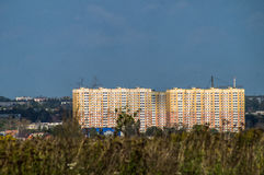 The landscape of the city of Kaluga in Russia. Stock Photo