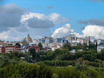 The landscape of the city of Kaluga in Russia. Stock Images