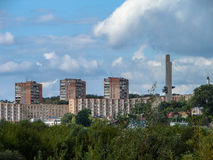 The landscape of the city of Kaluga in Russia. Royalty Free Stock Images