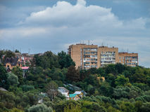 The landscape of the city of Kaluga in Russia. Stock Photos