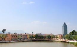 Landscape of city scape in landmark of Koayai ,Korat,Thailand Royalty Free Stock Photography