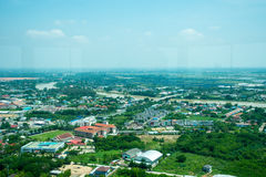 Landscape of city view royalty free stock photo