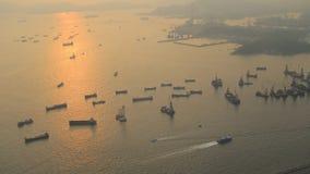Kowloon West, Hong Kong,cityscape at Hong Kong stock video