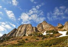 Ciucas cliffs Royalty Free Stock Photos