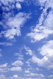 Landscape of cloud and blue sky Stock Image