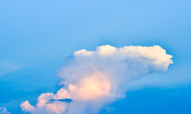 Landscape of clouds in the blue sky Royalty Free Stock Images