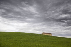 Landscape with cloudy sky Royalty Free Stock Photo