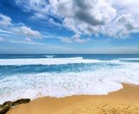 Coast of Bali Island, Indonesia Royalty Free Stock Images