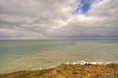 Landscape of the coast at Cap Gris Nez, France Stock Images