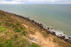 Landscape of the coast at Cap Gris Nez, France Stock Photos