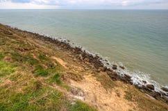 Landscape of the coast at Cap Gris Nez, France Stock Photos