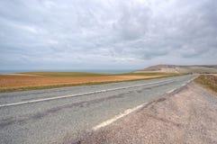 Landscape of the coast at Cap Gris Nez, France Stock Image
