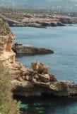 Landscape of the coast of Ibiza Royalty Free Stock Image